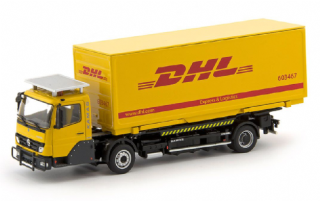 IMC KAMAG Wiesel White with DHL Container
